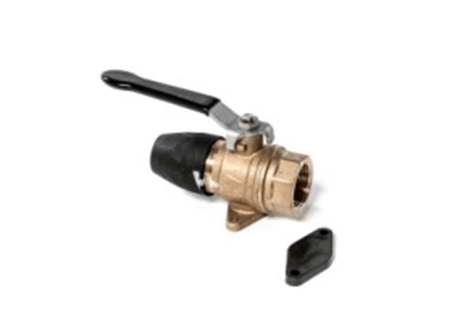 Threaded ball valve pf series aluminum air pipe